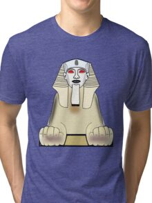 The Sphinx at Gaza, Egypt Tri-blend T-Shirt