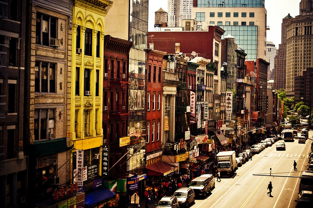 Above Chinatown - New York City by Vivienne Gucwa