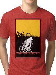 Eat Sleep Ride Repeat Tri-blend T-Shirt