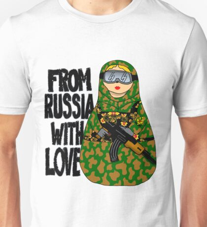 From Russia With Love NESTING DOLL Unisex T-Shirt