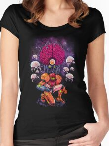 Mother Brain Women's Fitted Scoop T-Shirt