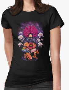 Mother Brain Womens Fitted T-Shirt