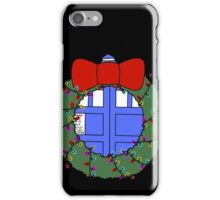 Whovian Holidays iPhone Case/Skin