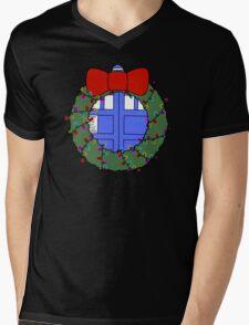 Whovian Holidays Mens V-Neck T-Shirt
