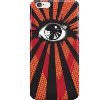 VENDETTA alternative movie poster eyeball print iPhone Case/Skin