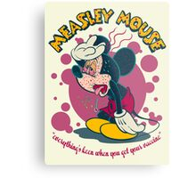 MEASLEY MOUSE Metal Print
