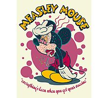 MEASLEY MOUSE Photographic Print