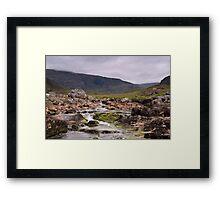 Hebridean River View Framed Print