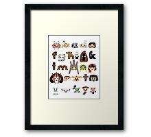 ABC3PO Episode II Framed Print