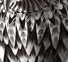 Ornate Tribal Shaman Eagle Print Sticker