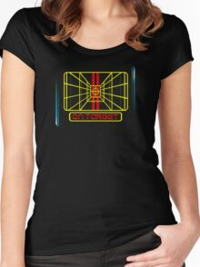 STAY ON TARGET... Women's Fitted Scoop T-Shirt