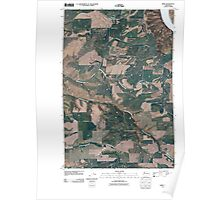 USGS Topo Map Washington State WA Kirby 20110406 TM Poster