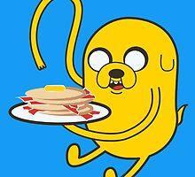 Jake's Bacon Pancakes by Rachel Livingston