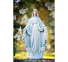 Our Lady of Grace 2455 Flower Garland Photographic Print