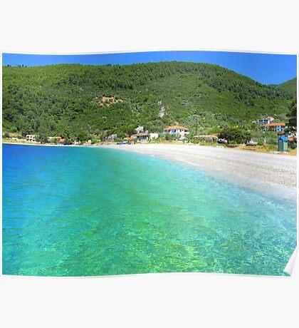 Panormos Beach - Skopelos Island, Greece Poster