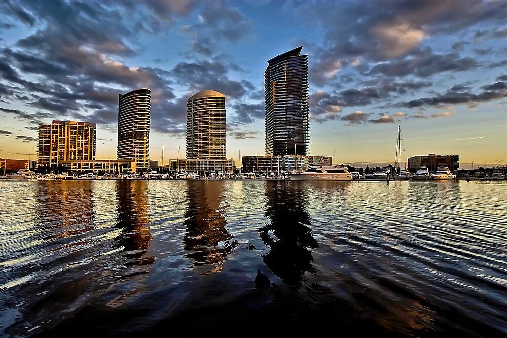 North Wharf - Docklands by Paul Louis Villani