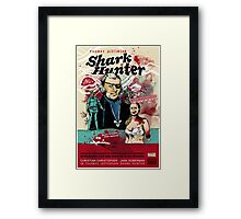 Thomas Jefferson - Shark Hunter! Framed Print