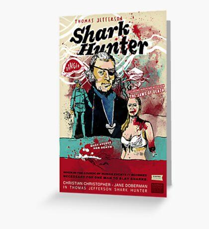 Thomas Jefferson - Shark Hunter! Greeting Card