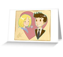 You Make Me Smile Greeting Card