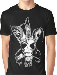 Venetian Masquerade Carnival Mask Graphic T-Shirt