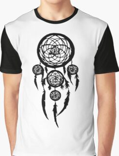 dream catcher(Black) Graphic T-Shirt