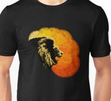 NIGHT PREDATOR: lion silhouette illustration Unisex T-Shirt