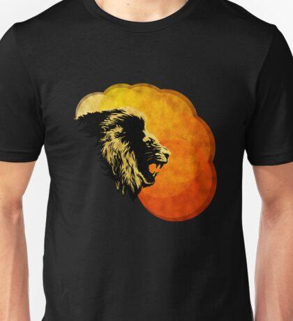 NIGHT PREDATOR: lion silhouette illustration Unisex T-Shirt