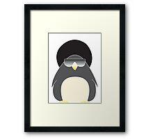 Afro Penguin  Framed Print