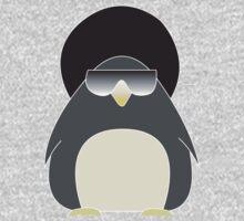 Afro Penguin  Baby Tee