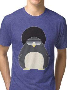 Afro Penguin  Tri-blend T-Shirt