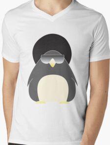 Afro Penguin  Mens V-Neck T-Shirt