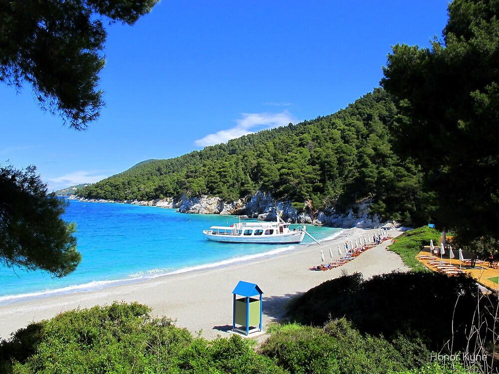 Kastani Beach - Skopelos by Honor Kyne