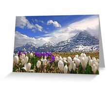 The hills are alive Greeting Card