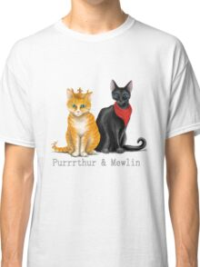 Purrrthur & Mewlin Classic T-Shirt