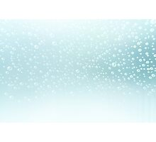 Water bubbles background Photographic Print