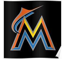 MLB - Marlins Poster