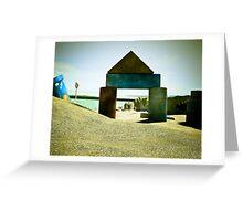 Summer Sand Box Fun 04 Greeting Card
