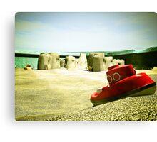 Summer Sand Box Fun 05 Canvas Print