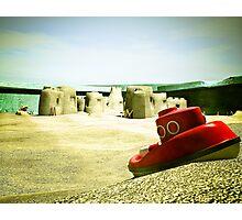 Summer Sand Box Fun 05 Photographic Print
