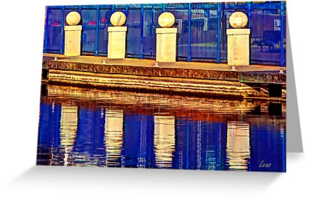 Blue Reflections by George Lenz