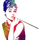 Audrey Hepburn by TheDigArtisT
