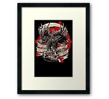 THE CROW VS. THE RAT Framed Print
