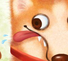 Corgi Christmas Sticker