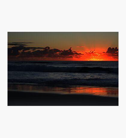Surfers Paradise Beach at 5.45am  Photographic Print