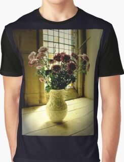 Flowered Window Light Raphoe, Donegal, Ireland Graphic T-Shirt