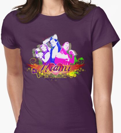 RCW's Miami Shirt 1 Womens Fitted T-Shirt