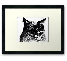 Portrait of Our Princess Framed Print