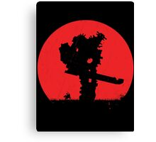 Shadow of the Colossus - V2 Canvas Print