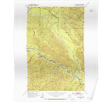 USGS Topo Map Washington State WA Eagle Gorge 240916 1953 24000 Poster