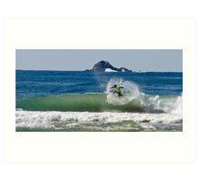 Surfing 6 Art Print